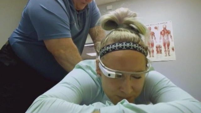 Améliorer son sport avec les Google Glass
