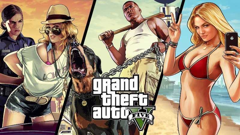 Le jeu GTA V se vend comme des petits pains