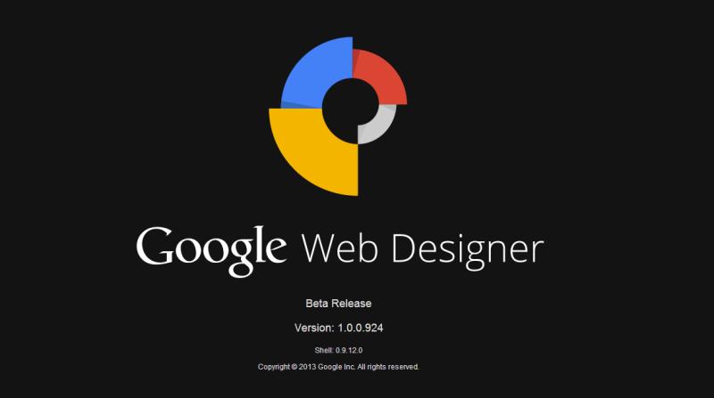 Google facilite la création de bannière publicitaire HTML5 avec son application Web Designer