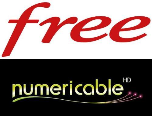 Free n'apprécie pas le tableau comparatif de Numericable