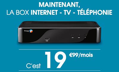 Bouygues Telecom casse les prix internet ADSL à19,99€/ mois tout compris