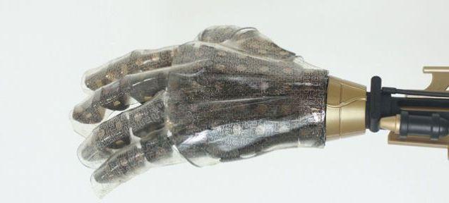 Nouvelle peau synthétique dotée d'un sens du toucher
