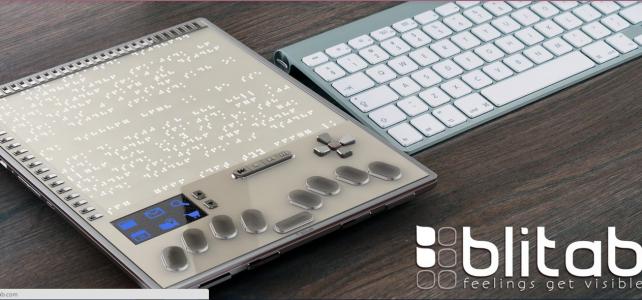 Blitab : la tablette qui promet de changer le quotidien des aveugles