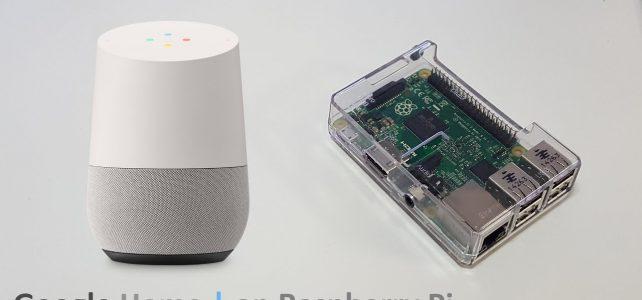 L'assistant personnel Google Home à monter soi-même pour moins de 50 €