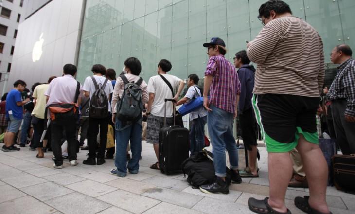 Sortie des deux iPhone 6 : Un vrai business pour certains campeurs devant l'Apple Store