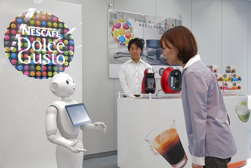 Nestlé Japon : le café sera servi par des robots