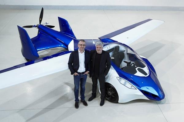 AeroMobil : la voiture du futur, mobile et volante